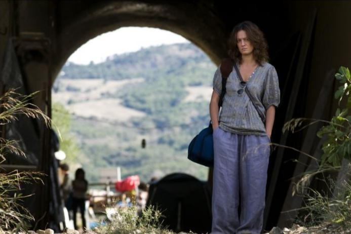Giovanna Mezzogiorno nel film Basilicata Coast to Coast