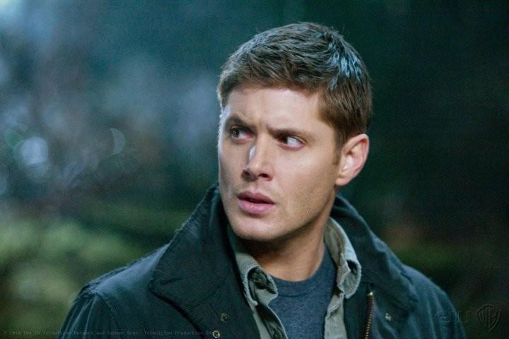 Jensen Ackles nell'episodio Dark Side of the Moon di Supernatural
