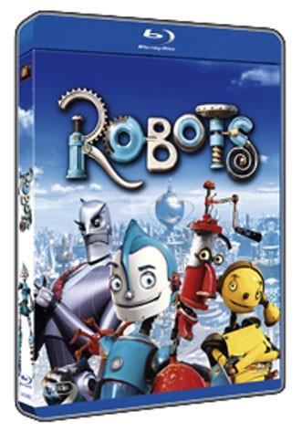 La copertina di Robots (blu-ray)