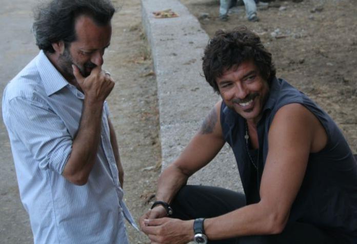 Rocco Papaleo e Alessandro Gassman sul set di Basilicata Coast to Coast