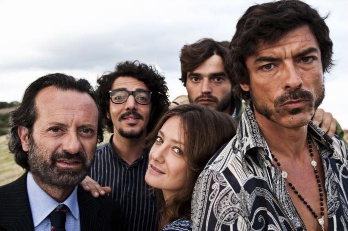 Rocco Papaleo, Max Gazzè, Paolo Briguglia, Giovanna Mezzogiorno e Alessandro Gassman posano per Basilicata Coast to Coast