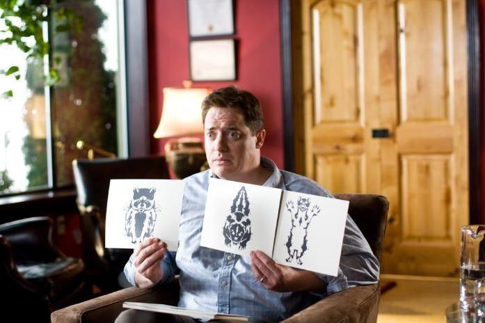 Brendan Fraser e anomali test di Rorschach nel film Puzzole alla riscossa
