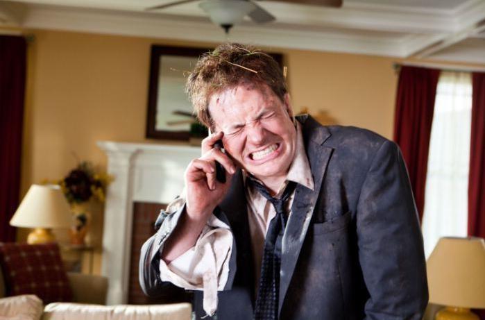 Brendan Fraser in una scena di Puzzole alla riscossa