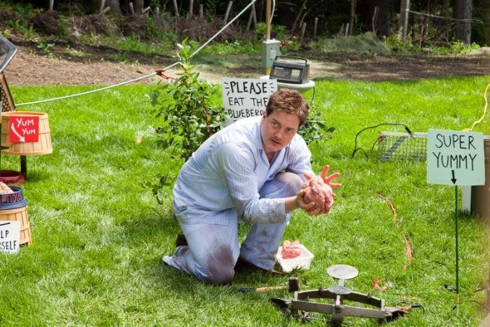 Brendan Fraser nel film Puzzole alla riscossa
