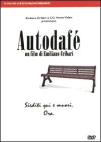 La copertina di Autodafè (dvd)