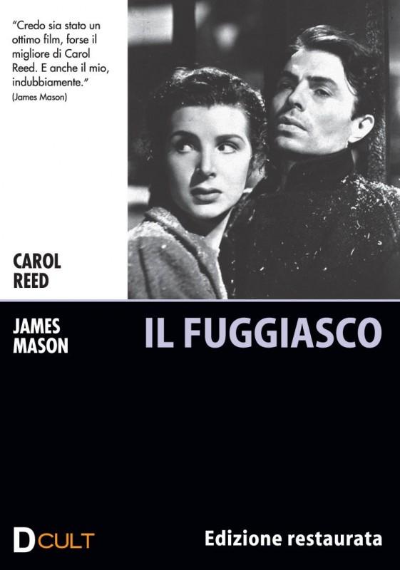 La copertina di Il fuggiasco (dvd)