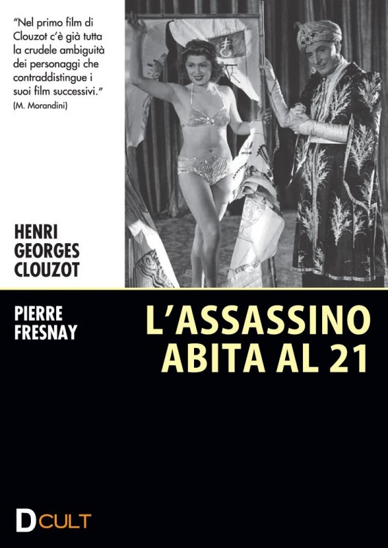 La copertina di L'assassino abita al 21 (dvd)