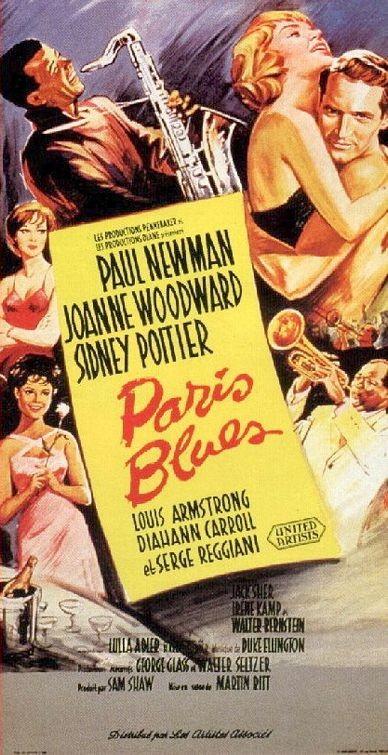 La locandina di Paris Blues
