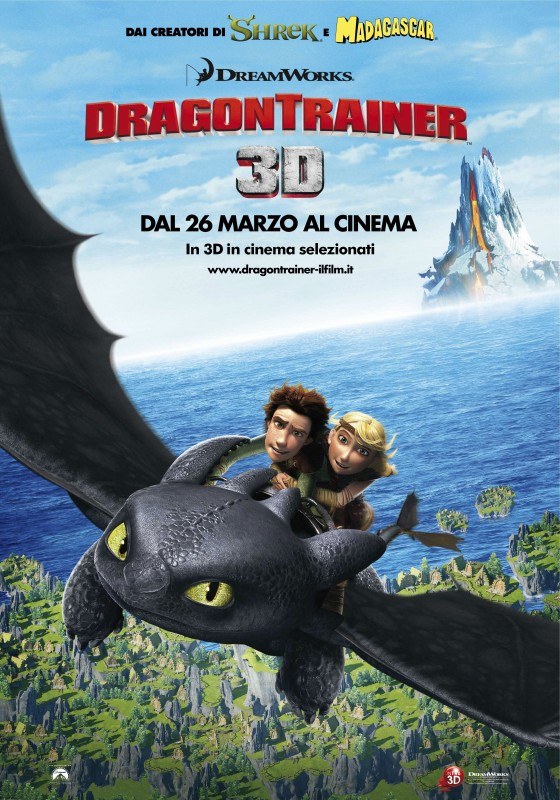 Nuovo poster italiano per Dragon Trainer