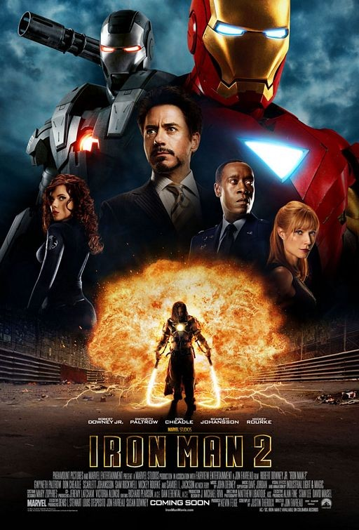 International Poster per Iron Man 2