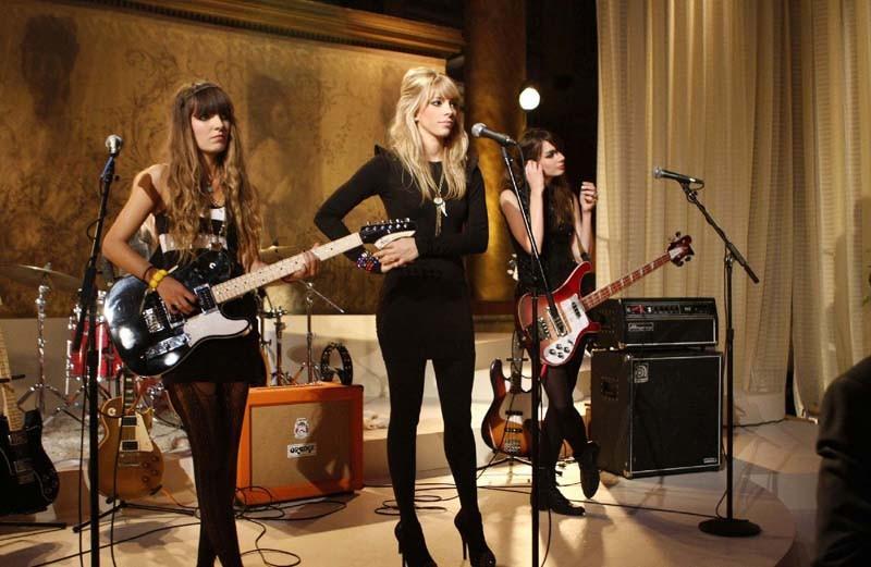 La band 'Plastiscines' nell'episodio They Shoot Humphreys, Don't They? di Gossip Girl