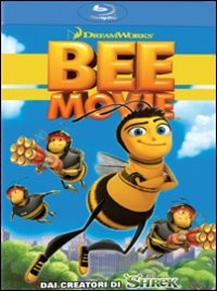 La copertina di Bee Movie (blu-ray)