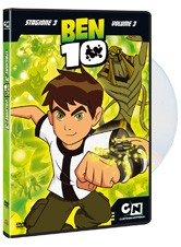 La copertina di Ben 10 - Stagione 3 - Volume 3 (dvd)