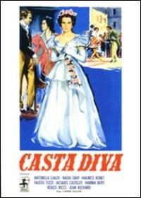 La copertina di Casta diva (dvd)