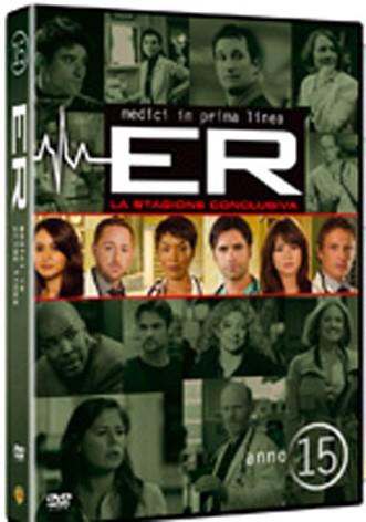 La copertina di E.R - Medici in prima linea - Stagione 15 (dvd)