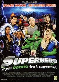 La copertina di Superhero (dvd)