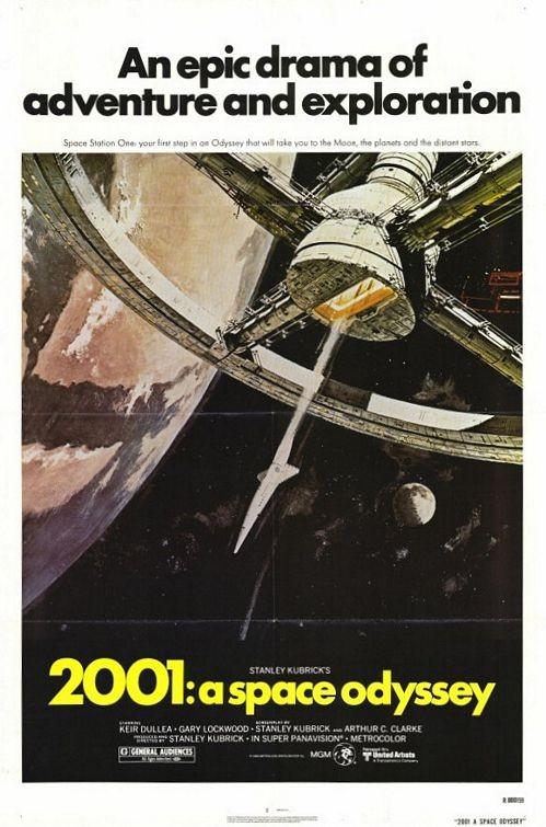 Locandina del film 2001: Odissea nello spazio ( 1968 )