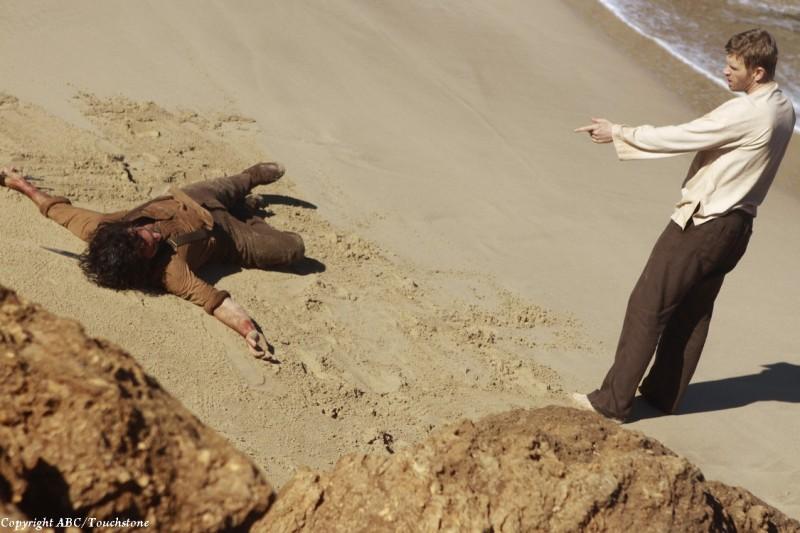 Lost: Nestor Carbonell e Mark Pellegrino nell'episodio Ab Aeterno