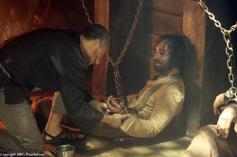 Lost: Titus Welliver e Nestor Carbonell nell'episodio Ab Aeterno