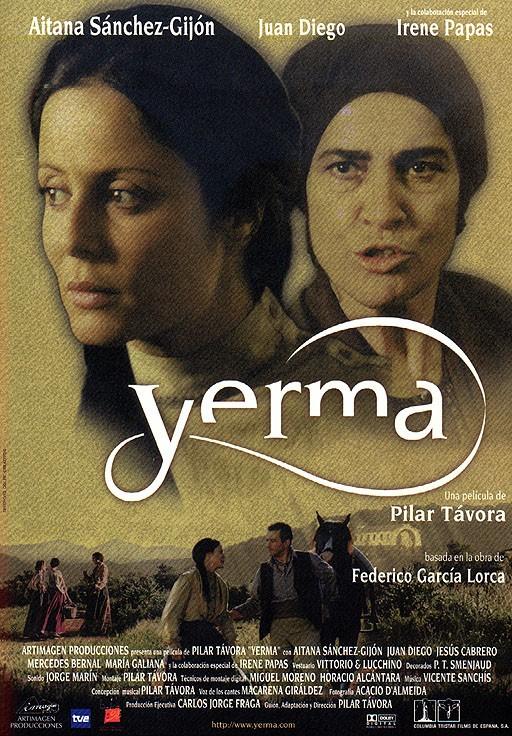 La locandina di Yerma