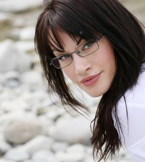 una sensuale immagine dell'attrice italiana Crisula Stafida