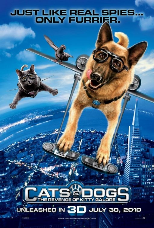 Character Poster 1 per Cats & Dogs: The Revenge of Kitty Galore