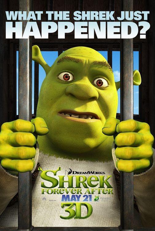 Character Poster 1 per Shrek Forever After