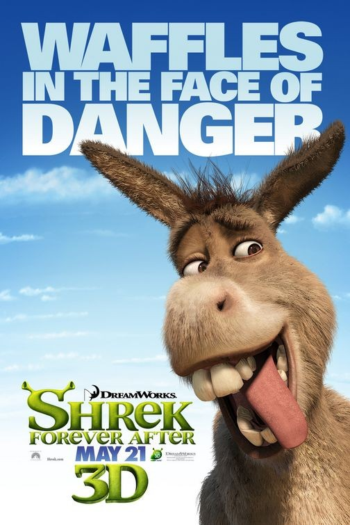 Character Poster 3 per Shrek Forever After