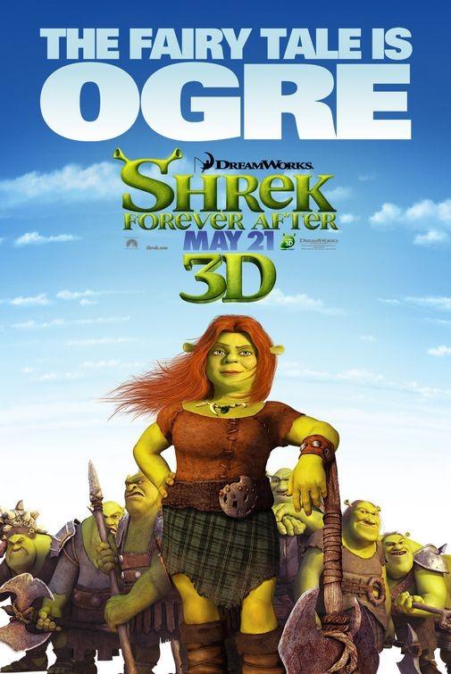 Character Poster 4 per Shrek Forever After