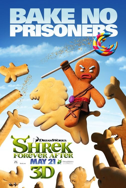 Character Poster 5 per Shrek Forever After