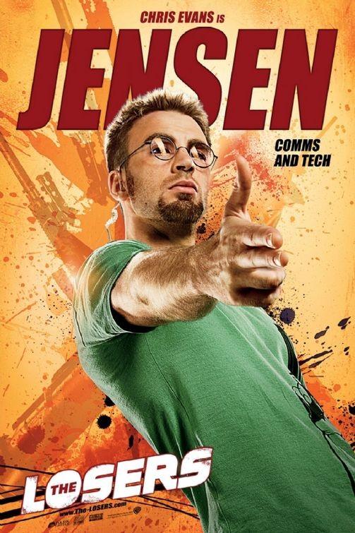 Character poster per The Losers - Chris Evans è Jensen