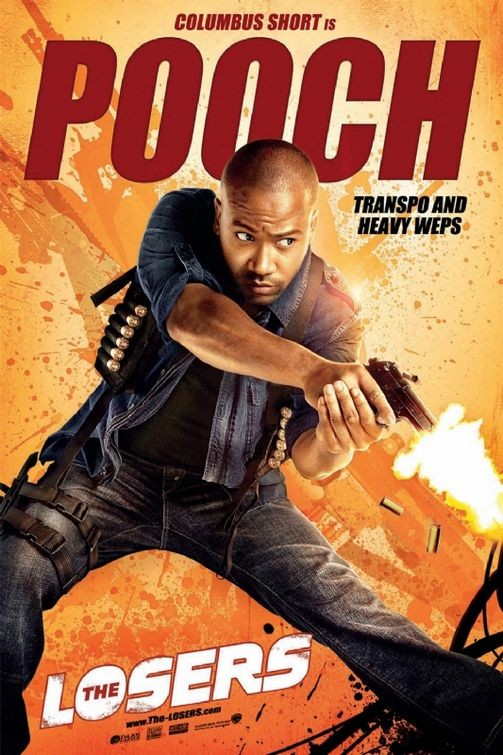 Character poster per The Losers - Columbus Short è Pooch
