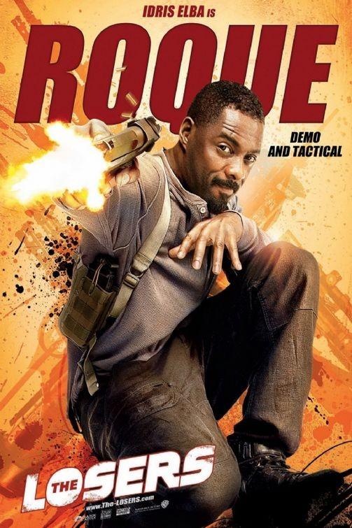 Character poster per The Losers - Idris Elba è Roque