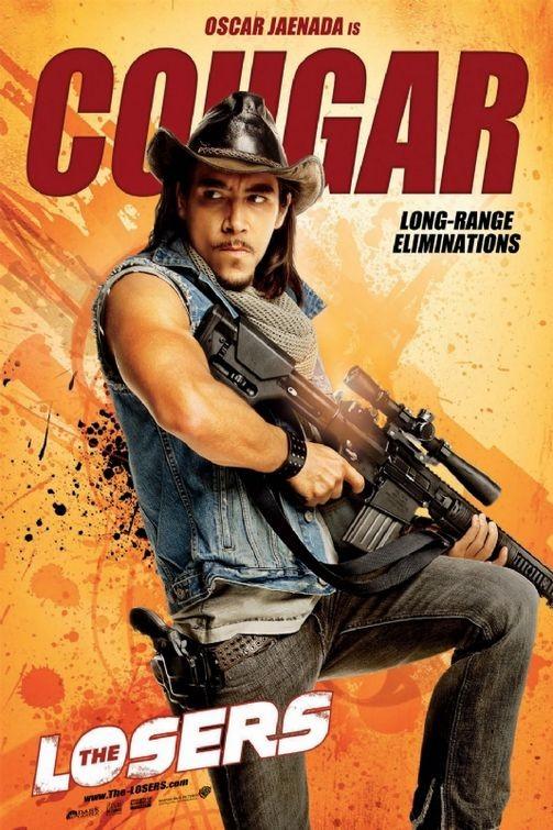 Character poster per The Losers - Oscar Jaenada è Cougar