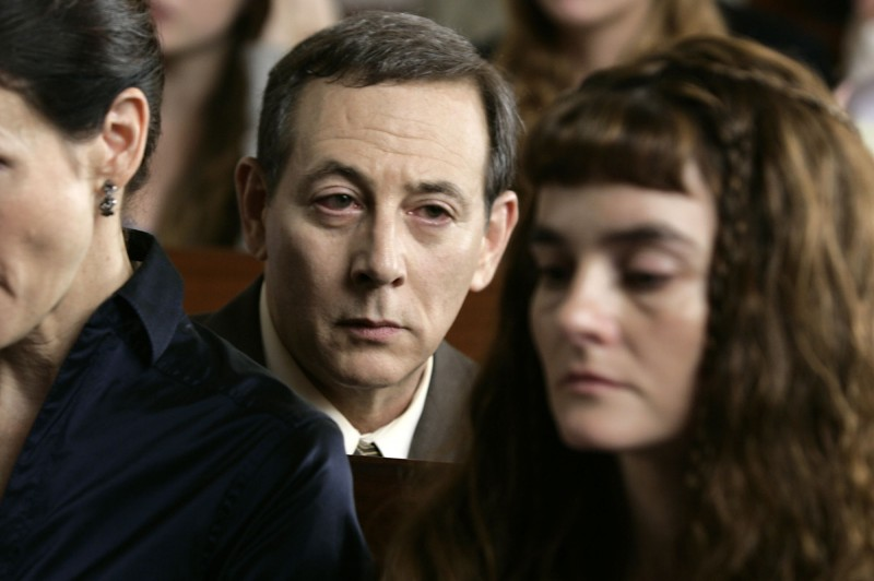 Paul Reubens e Shirley Henderson in una scena del film Life During Wartime