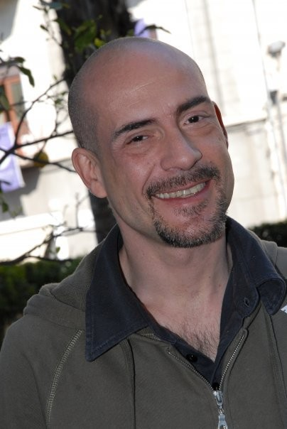 Gianmarco Tognazzi sul set del film Le ultime 56 ore