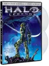 La copertina di Halo Legends (dvd)