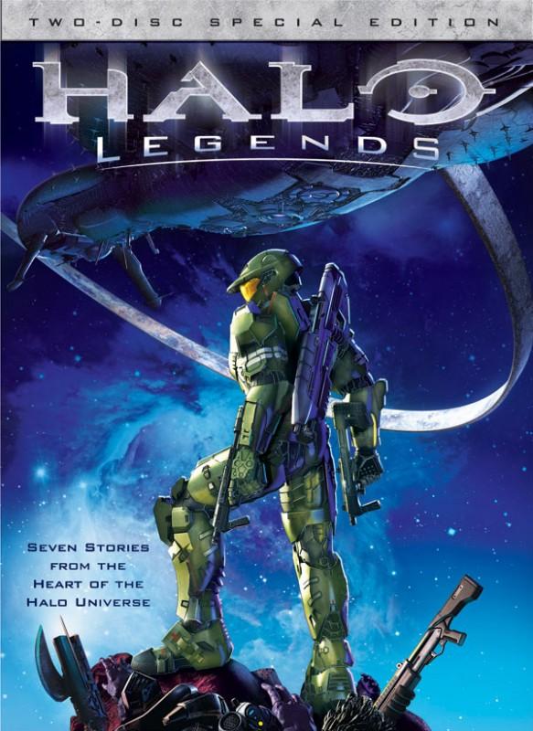 La locandina di Halo Legends