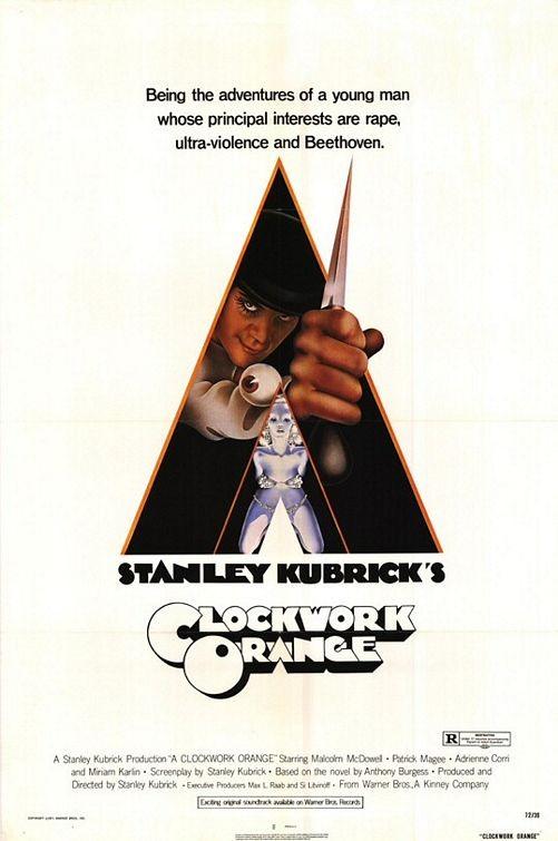 Locandina del film Arancia meccanica ( 1971 )