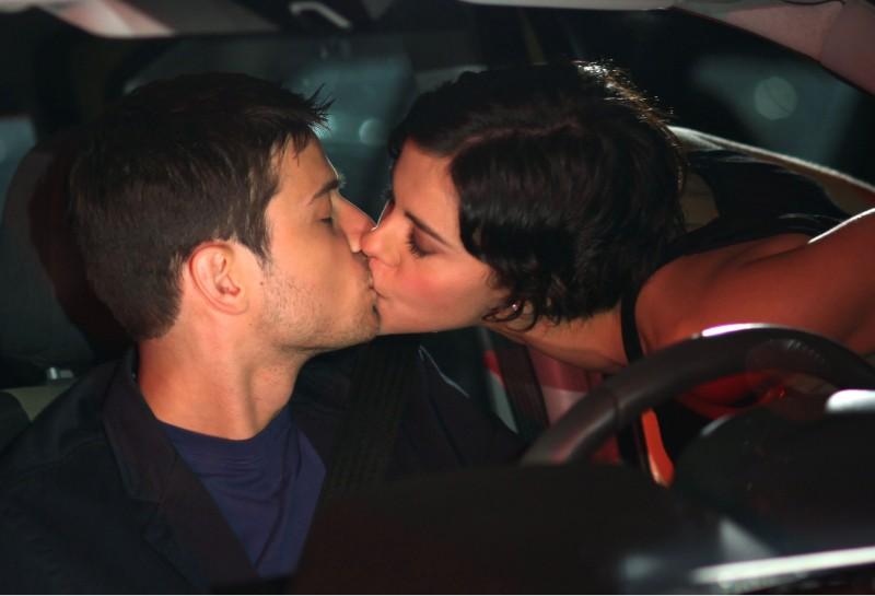 Emanuele Bosi e Virginie Marsan in una scena del film La vita è una cosa meravigliosa