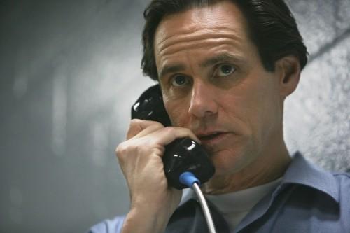 Jim Carrey in un primo piano tratto dal film Colpo di fulmine - Il mago della truffa