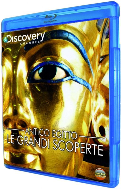 La copertina di Antico Egitto - Le grandi scoperte (blu-ray)
