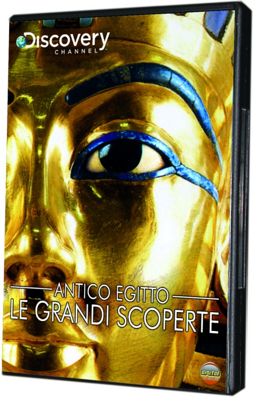 La copertina di Antico Egitto - Le grandi scoperte (dvd)