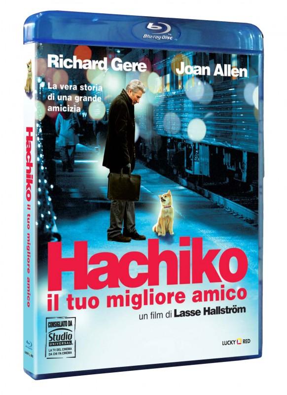 La copertina di Hachiko - Il tuo migliore amico (blu-ray)