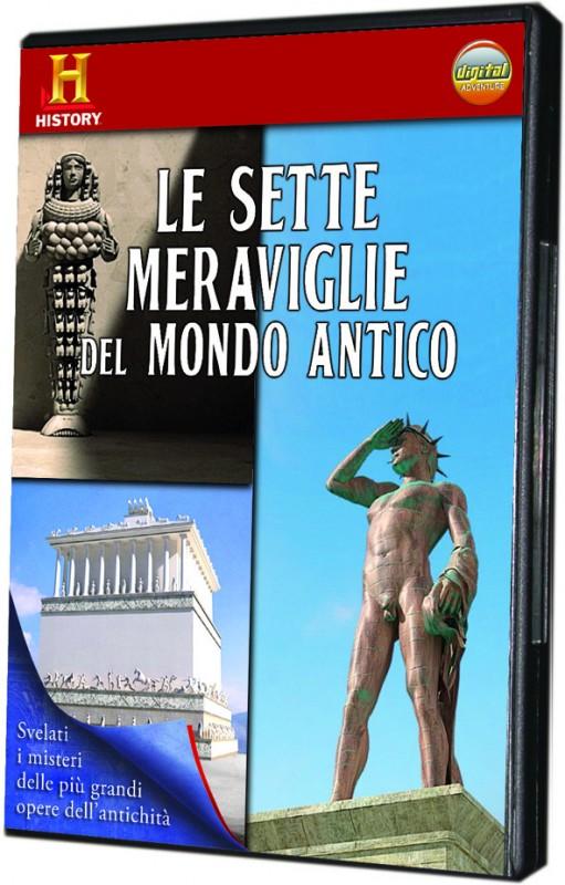 La copertina di Le sette meraviglie del mondo antico (dvd)