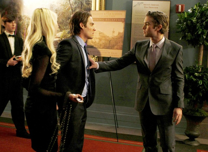 Taylor Momsen, Kevin Zegers e Chace Crawford in: The Sixteen Year Old Virgin di Gossip Girl