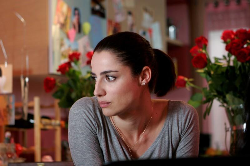 Un'immagine di Luisa Ranieri dal film La vita è una cosa meravigliosa