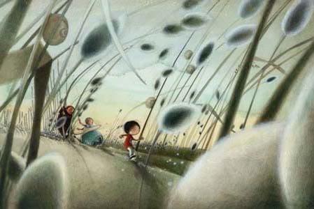 Una suggestiva immagine dal film d'animazione Nat e il segreto di Eleonora