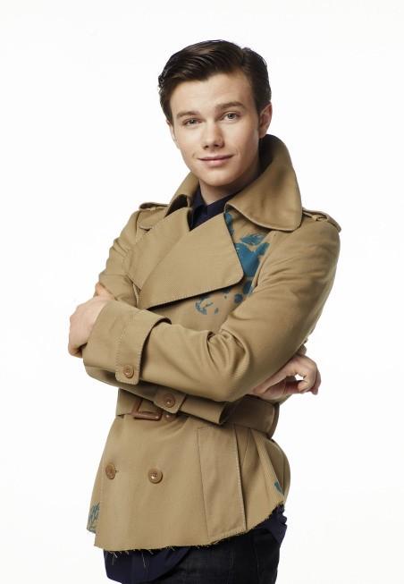 Chris Colfer è Kurt nella serie Glee