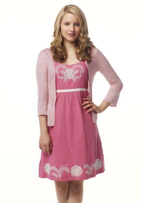 Dianna Agron è Quinn in Glee